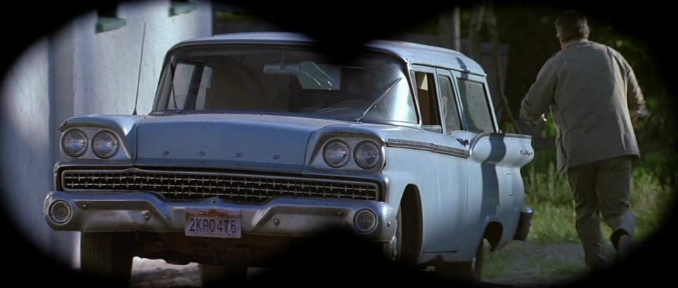 2017 Shelby Gt500 >> 1959 Ford Ranch Wagon Tudor Two-Door Station Wagon 59C - Best Movie Cars