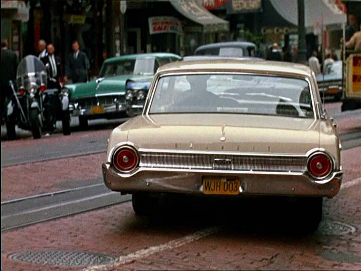 1962 Ford Galaxie 500 Town Victoria 75A, The Birds 1963
