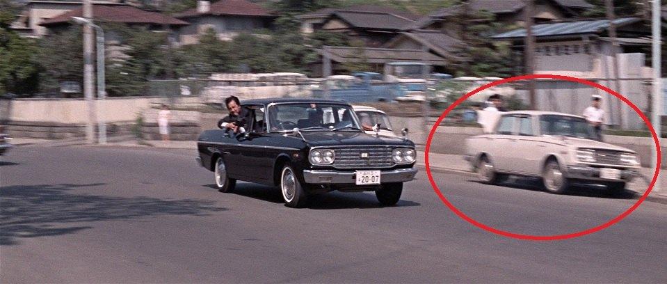 1965 Toyopet Corona Deluxe RT40