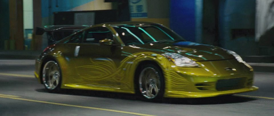 2002 Nissan Fairlady Z Z33, The Fast and the Furios Tokyo Drift 2006