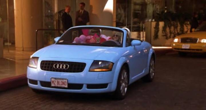 2003 Quot Legally Blonde 2 Red White Amp Blonde Quot 2003 Audi Tt