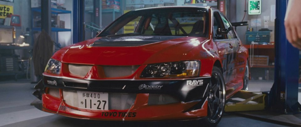 2006 Mitsubishi Lancer Evolution IX GSR, The Fast and the Furious Tokyo Drift