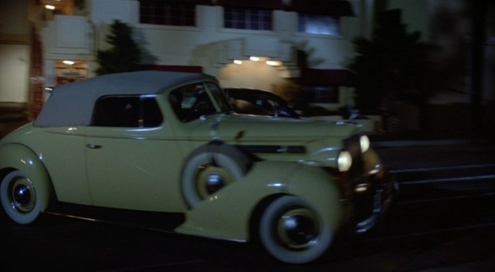 1938 Packard Eight Convertible Coupe 1601, Who Framed Roger Rabbit + 1988