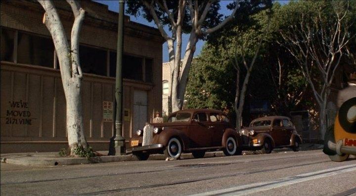 1938 Packard Six Touring Sedan 1600