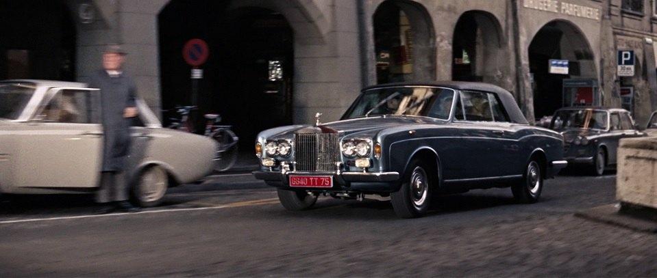 1968 Rolls-Royce Silver Shadow Drophead Coupe Mulliner Park-Ward
