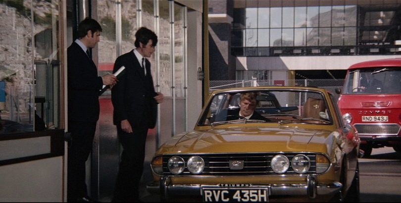 1970 Triumph Stag Pre-production Mk 1 LD14, Diamonds Are Forever 1971