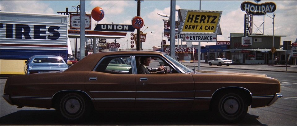 1971 Ford Galaxie 500 Four Door Sedan 54f Best Movie Cars