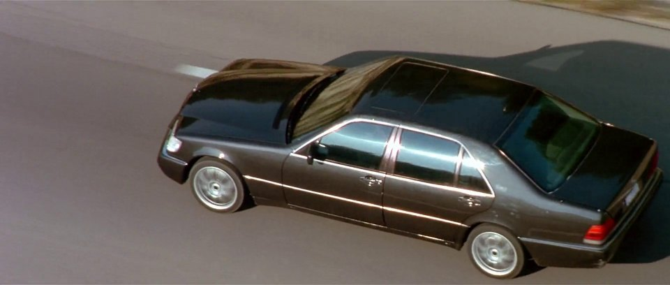 1991 Mercedes-Benz 600 SEL W140, The Transporter 2002