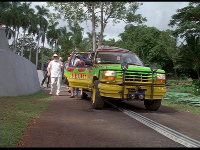 all the cars in jurassic park 1993. Black Bedroom Furniture Sets. Home Design Ideas