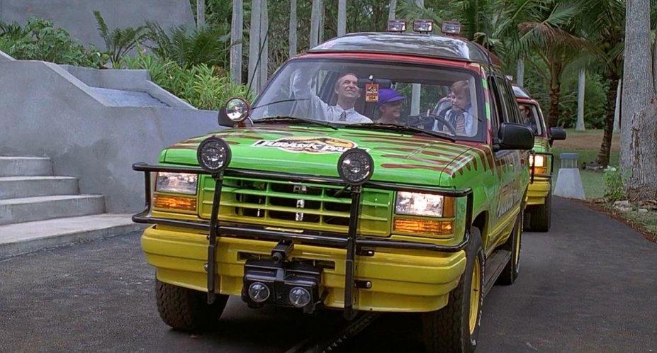 1993 Ford Explorer XLT UN46, Jurassic Park 1993