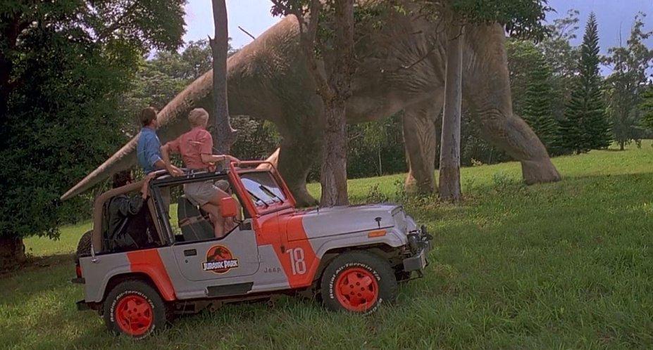 1993 Jeep Wrangler Sahara YJ, Jurassic Park 1993