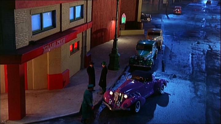 Auburn Speedster Replica, Dick Tracy