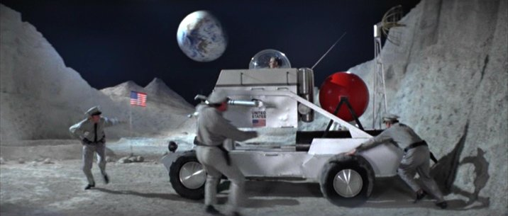 Made for Movie Moon Buggy, Diamonds Are Forever