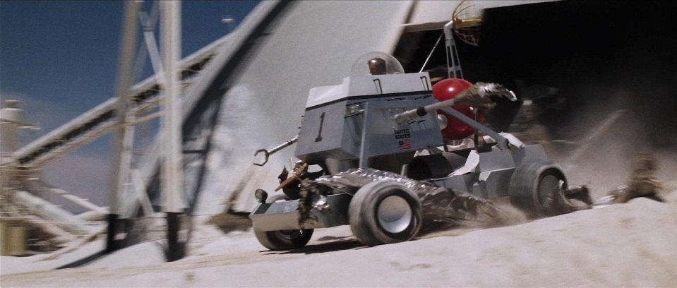 Made for Movie Moon Buggy, Diamonds Are Forever 1971
