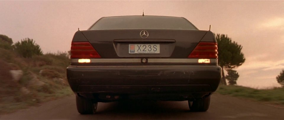 Mercedes-Benz S 600 W140, The Transporter 2002