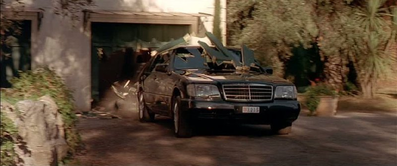Mercedes-Benz S-Klasse W140, The Transporter 2002