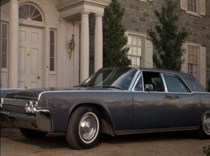 1963 lincoln continental best movie cars