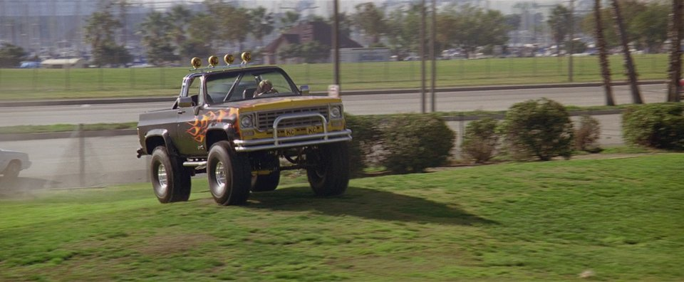 1975 Chevrolet Blazer K-5, Last Hero Action 1993