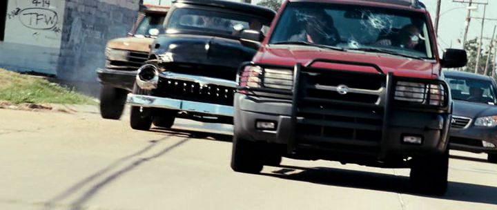 2000 Nissan Xterra WD22, The Expendables 2010
