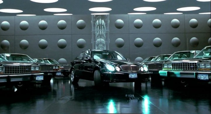 2002 Mercedes-Benz E500 Pre-production W211, Men in Black 2 + 2002