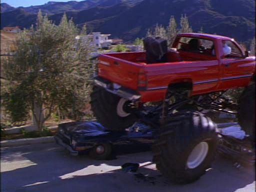 Custom Made Monster Truck bodied as 1994 Dodge Ram