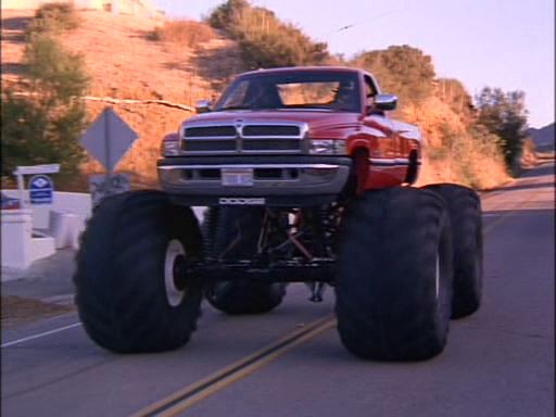 Custom Made Monster Truck bodied as 1994 Dodge Ram, Twin Sitters 1994