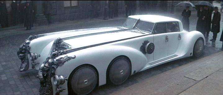 All The Cars In The League Of Extraordinary Gentlemen 2003