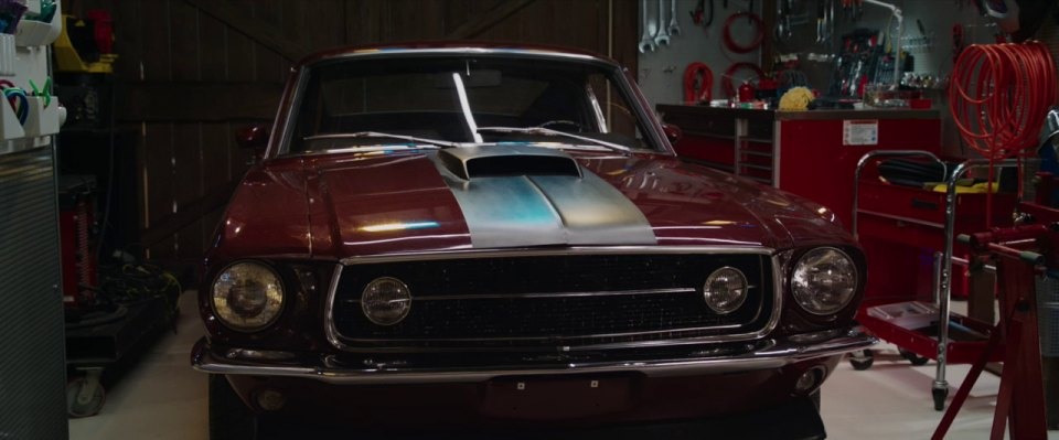 1967 Ford Mustang, Iron Man 3 + 2013