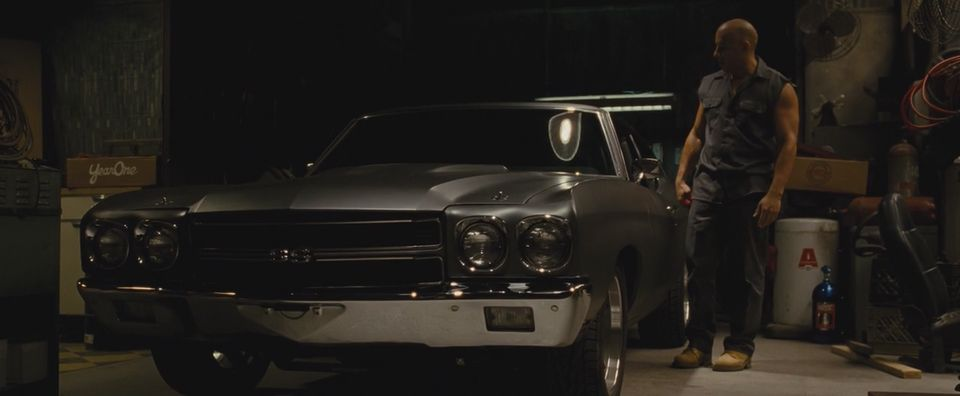 1970 Chevrolet Chevelle SS, The Fast and the Furious 4 2009