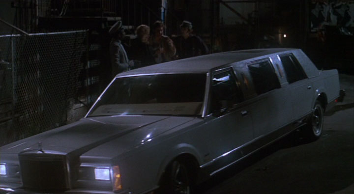1981 Lincoln Town Car Stretch, Once Bitten 1985
