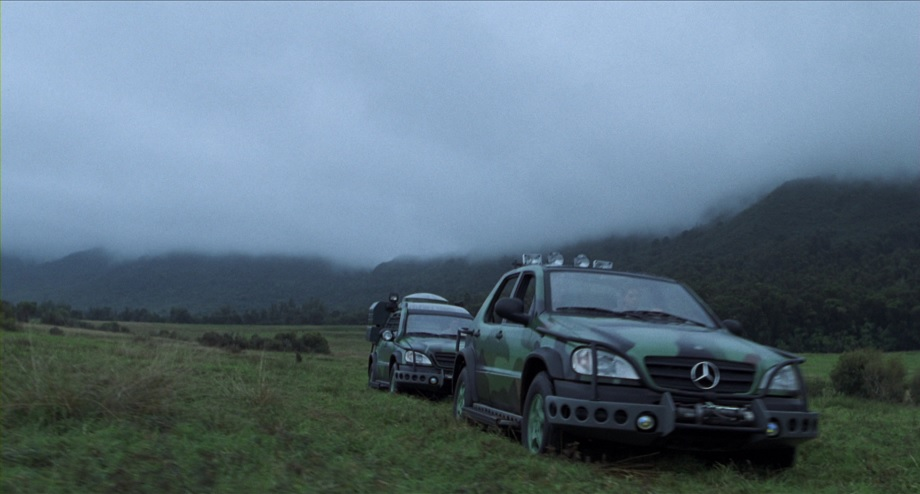1997 Mercedes-Benz ML 320 Pre-Production W163, The Lost World: Jurassic Park