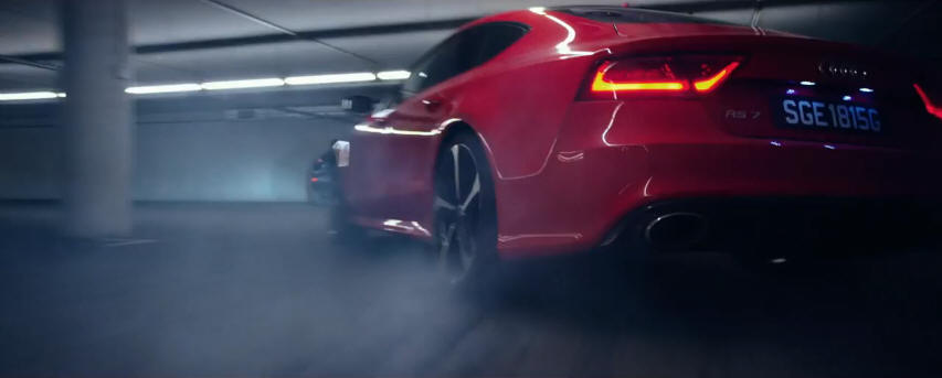 2015 Hitman Agent 47 2013 Audi Rs7 Sportback Best Movie Cars