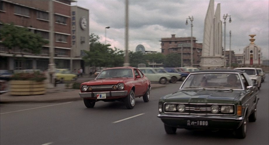 All the cars in the man with the golden gun 1974 - Ford taunus gxl coupe 2000 v6 1971 ...