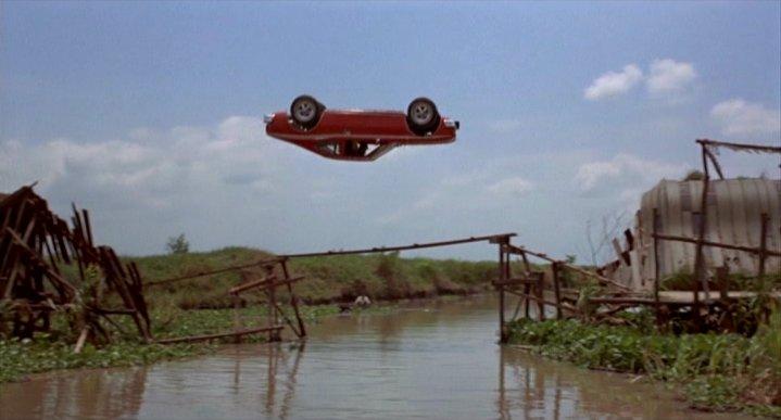 1974 AMC Hornet X + corkscrew jump