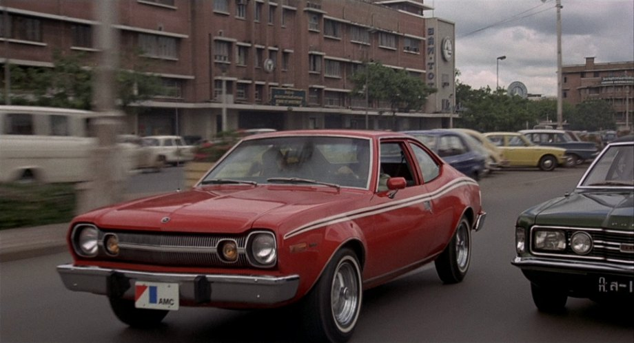 1974 AMC Hornet X + The Man with the Golden Gun 1974