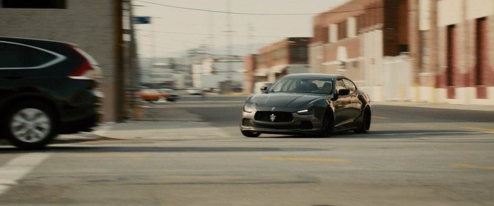 Maserati ghibli fast and furious 7