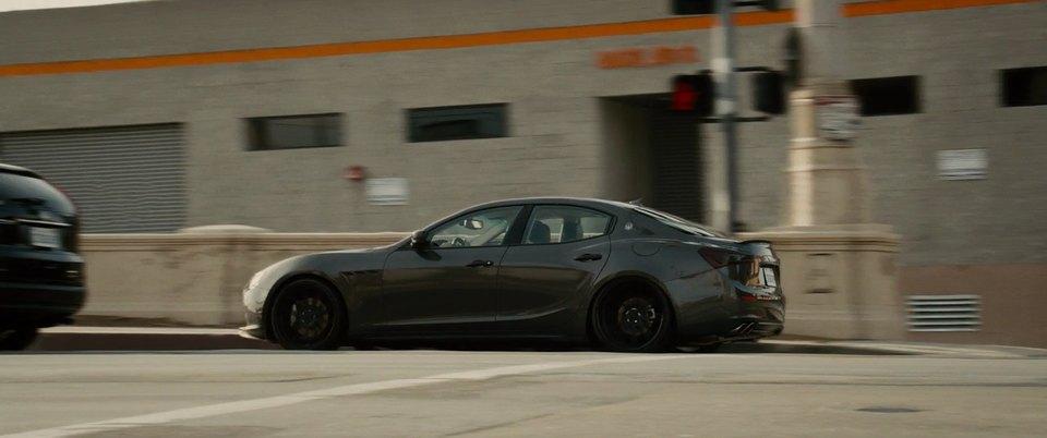2014 Maserati Ghibli M157, Furious 7 2015