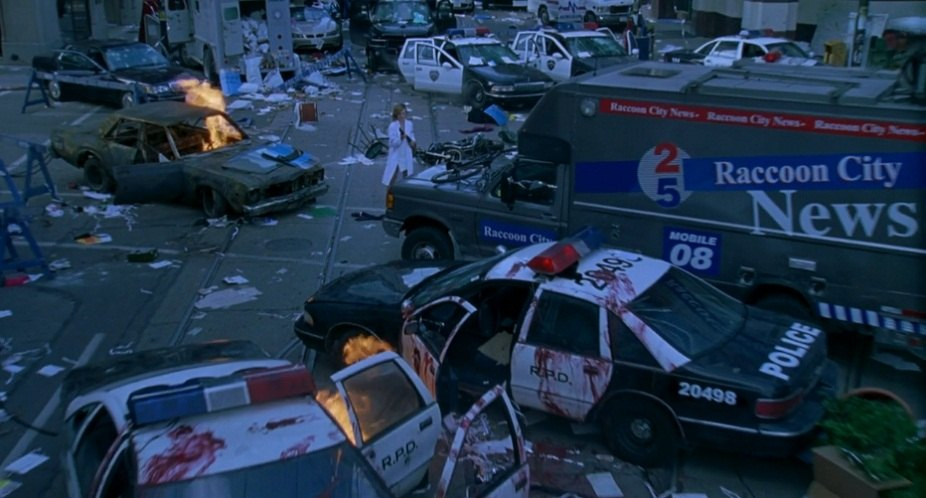 All The Cars In Quot Resident Evil Quot 2002