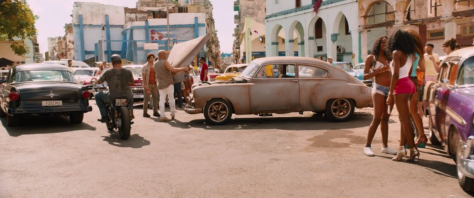 1949 Chevrolet Fleetline De Luxe 2-Door Sedan 2152, Fast and Furious 8 2017