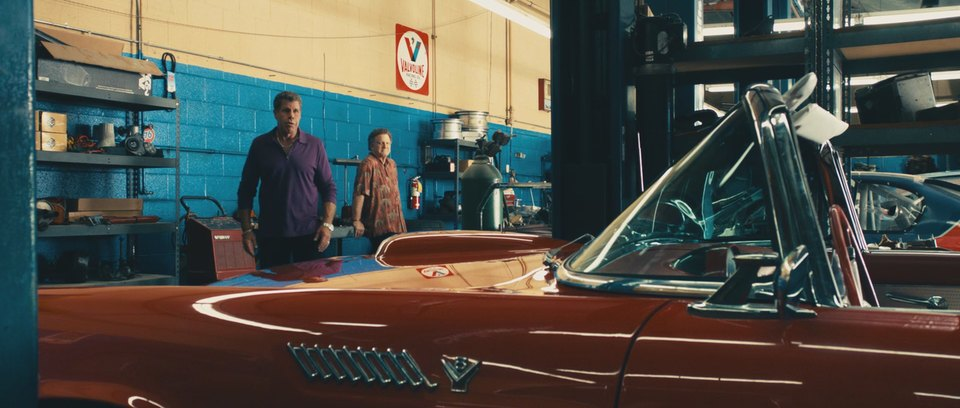1955 Ford Thunderbird 40A, Drive 2011