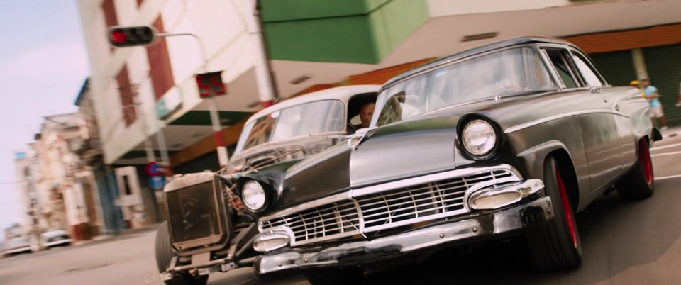 1956 Ford Customline Tudor Sedan 70B, The Fate of the Furious 2017