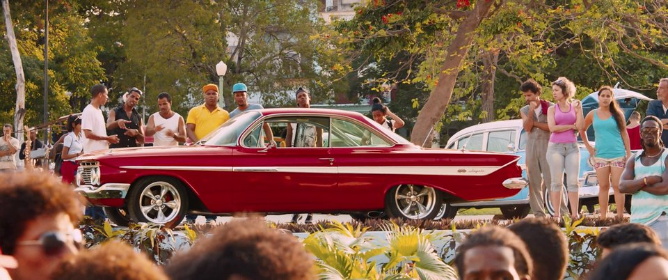 1961 Chevrolet Impala Sport Coupe 1847, The Fate of the Furious 8 2017