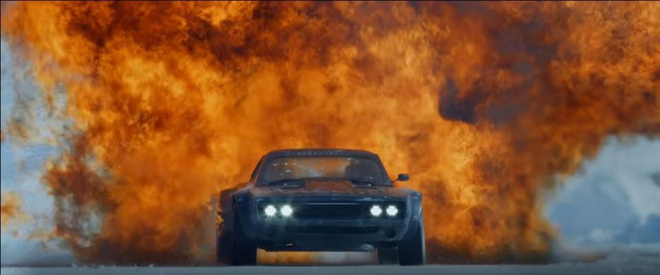 1968 Dodge Charger, The Fate of the Furious