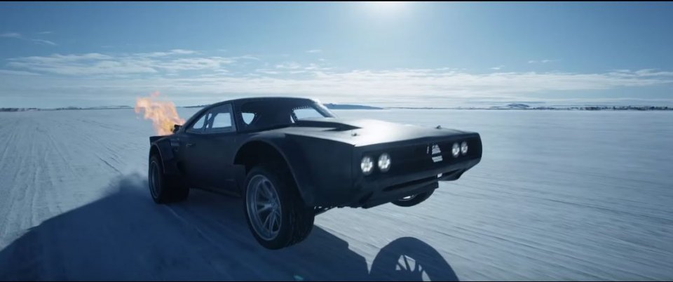 1968 Dodge Charger, Fast and Furious 8 2017