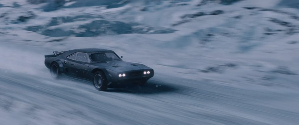1968 Dodge Charger, The Fate of the Furious 2017