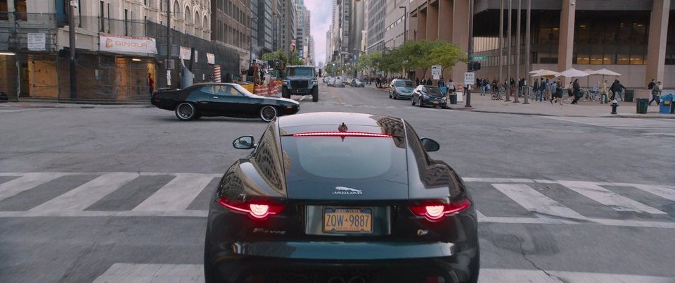 2016 Jaguar F-Type Coupe S X152, Fast and Furious 8 2017