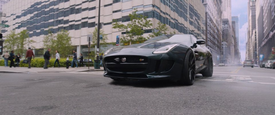 2016 Jaguar F-Type Coupe S X152, The Fate of the Furious 2017