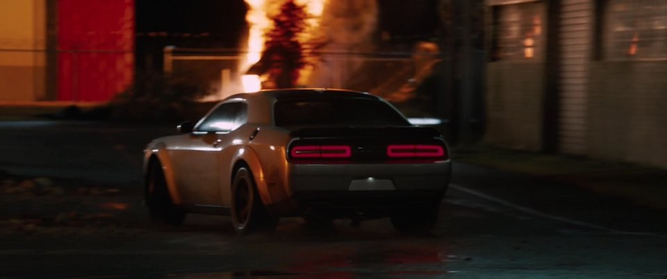 2018 Dodge Challenger SRT Demon Pre-production LA, The Fate of the Furious 2017