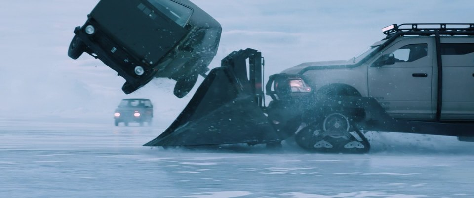 Dodge Ram Ice Ram Modified for Movie