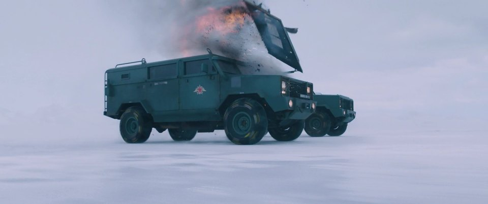 Made for Movie MRAP The Rhino on Chevrolet by CRB Metal Fab
